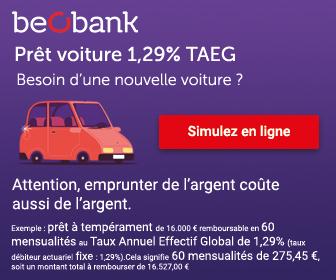 crédit auto beobank