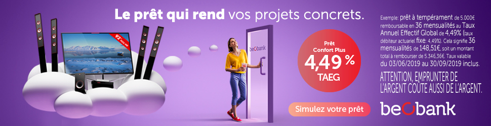 crédit projet personnel